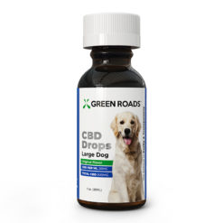 Green Roads Pet CBD Large Dog Drops, 600MG
